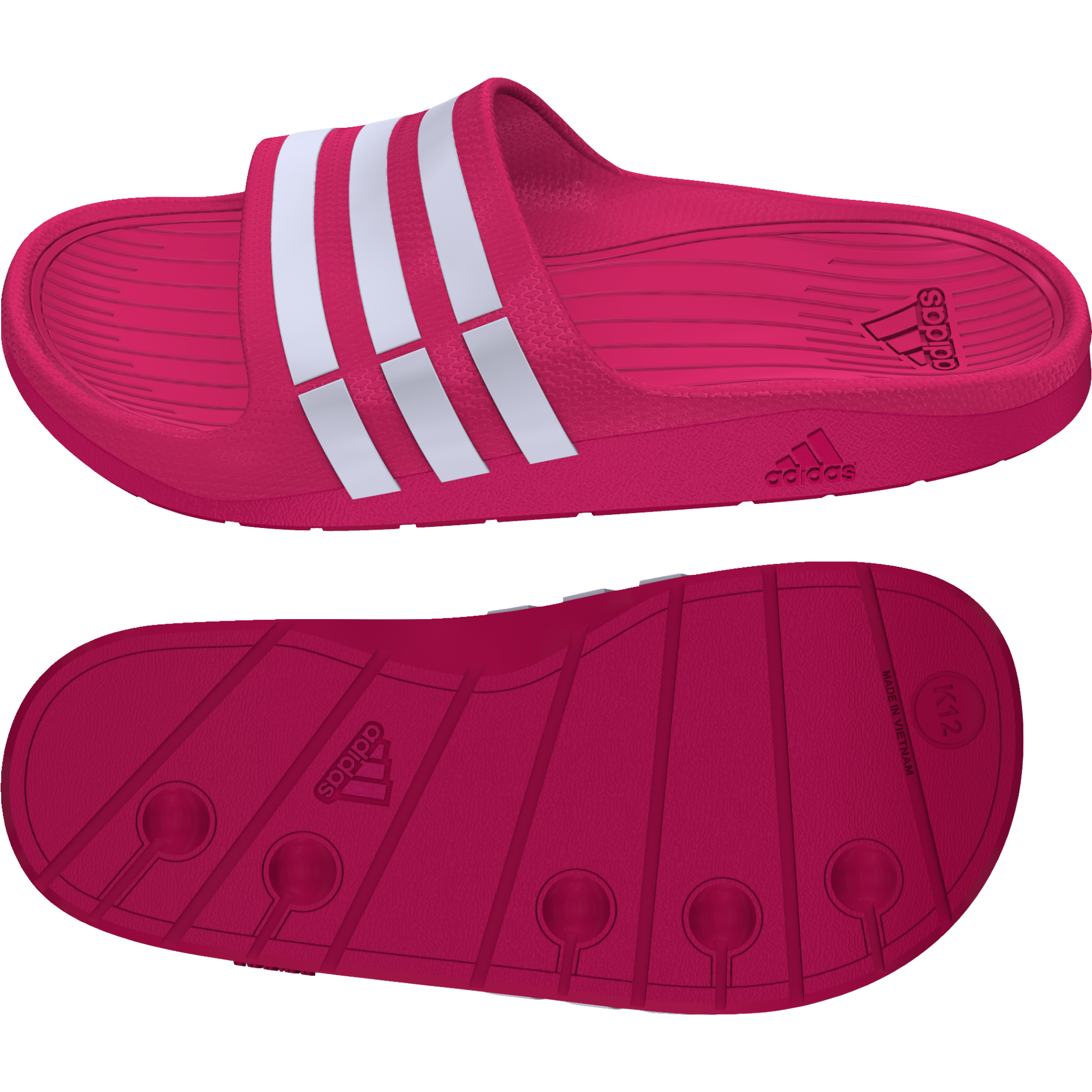 g06797 Adidas Duramo Slide Synthetic lány papucs