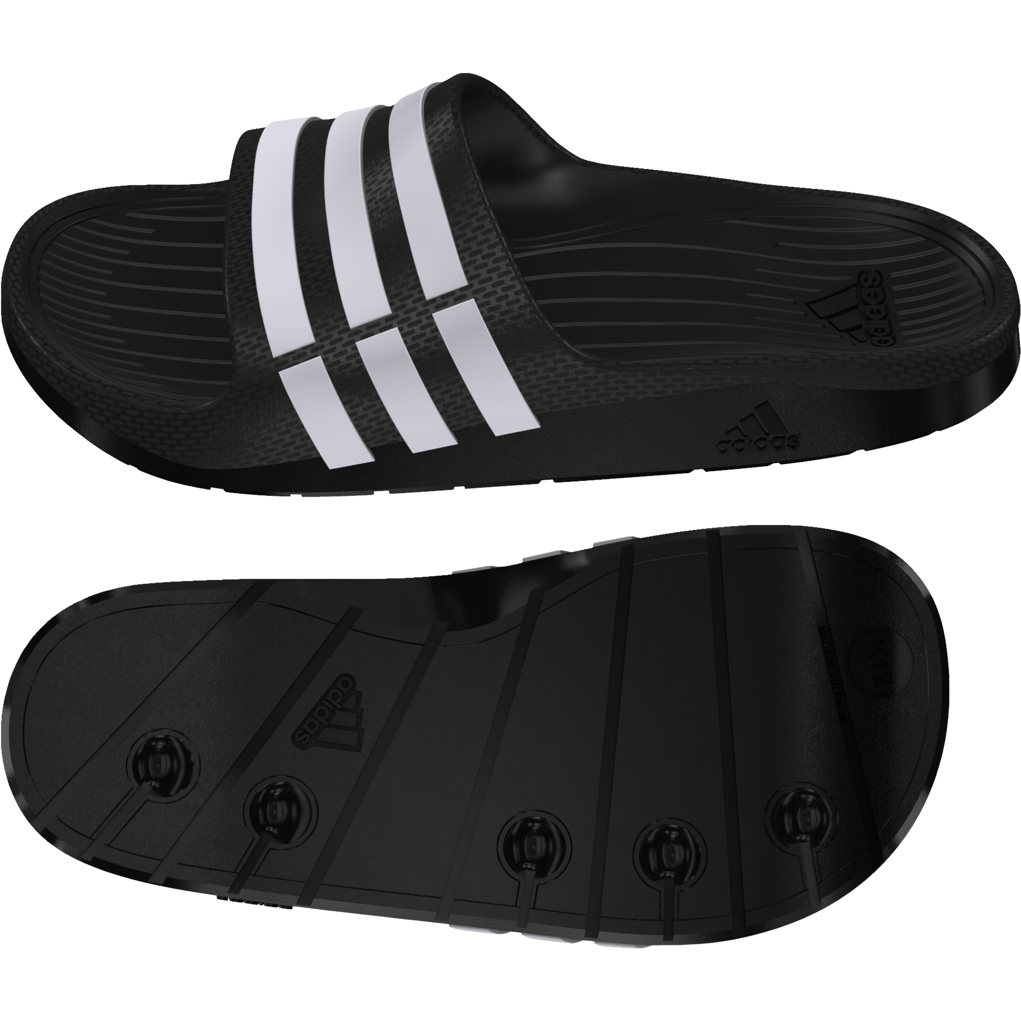 g06799 Adidas Duramo Slide Synthetic fiú papucs